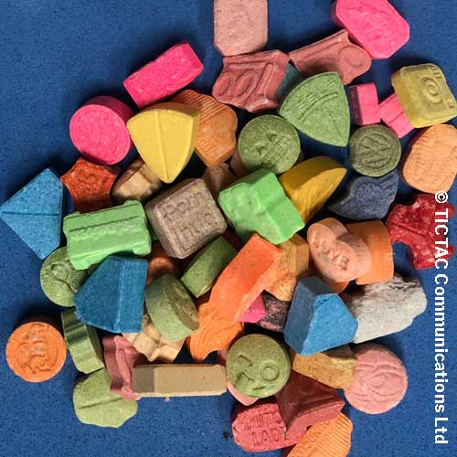 ecstasy/mdma tablets
