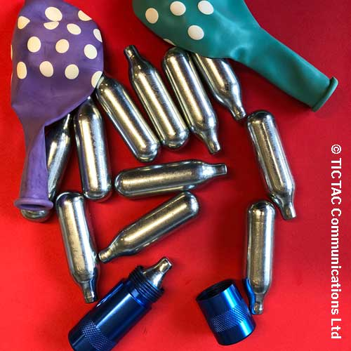 nitrous oxide cannisters